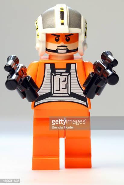 lego pilote - lego star wars photos et images de collection