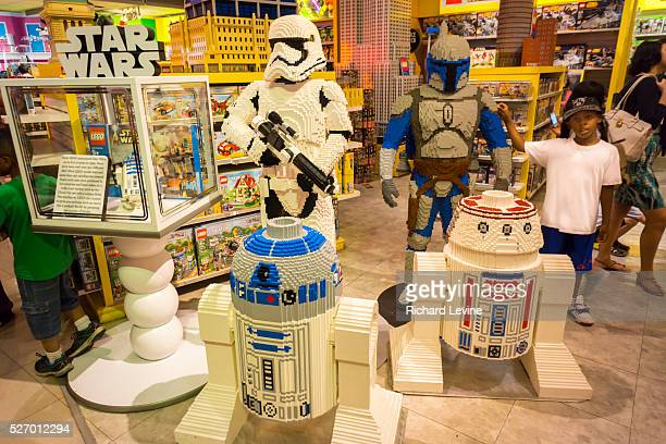 Lego Star Wars display in the Toys R Us store in Times Square in New York on socalled Force Friday September 4 2015 Lego A/S reported that net income...