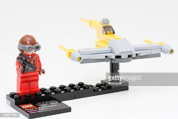 lego star wars minifigure ensemble - lego star wars photos et images de collection