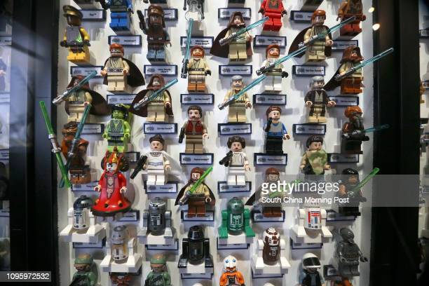 Lego Star Wars models displayed in Time Square at Causeway Bay The new Star Wars movie titled The Force Awakens directed by US director JJ Abrams is...