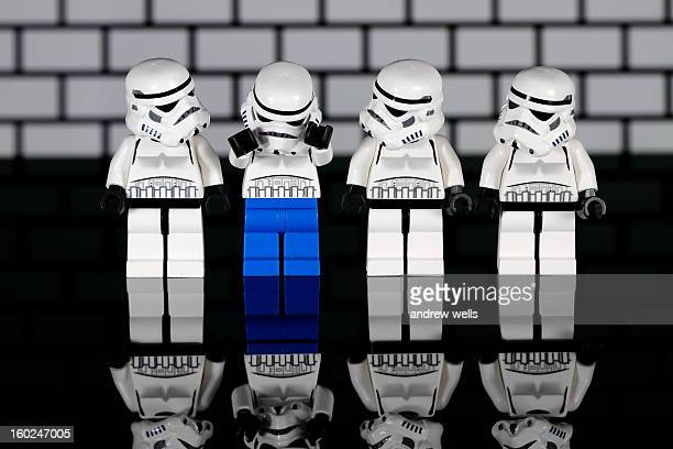 CONTENT] Lego Star Wars storm troopers in a line