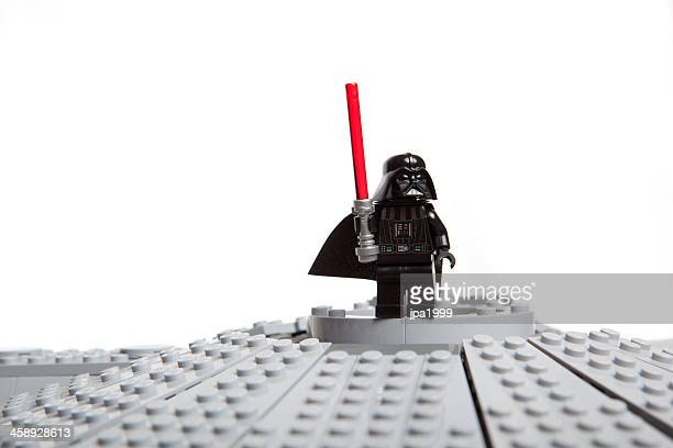 lego star wars toy character: darth vader - lego stock pictures, royalty-free photos & images