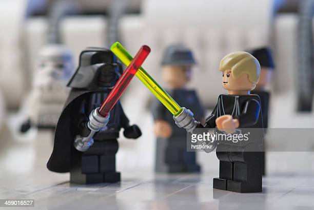 Lego sword fight