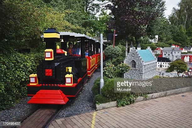 Lego train Legoland Billund Jutland Denmark