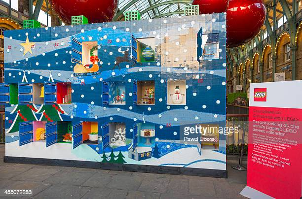 Lego World Largest Advent Calendar at Covent Garden Market