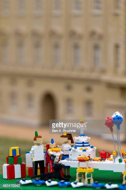 Legoland Windsor host a 1st birthday party for Prince George of Cambridge at LEGOLAND Windsor on July 21 2014 in Windsor England
