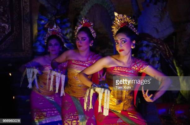 legong dances - ubud district stock pictures, royalty-free photos & images
