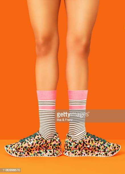 legs and feet - sock stock pictures, royalty-free photos & images