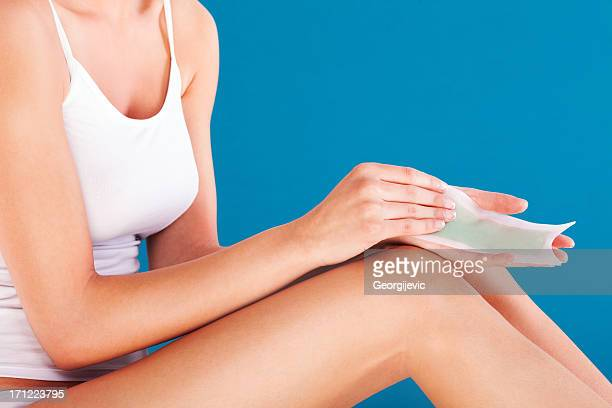 Jambes depilating