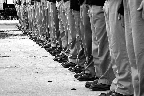 Legs of soldier, Salto, Uruguay