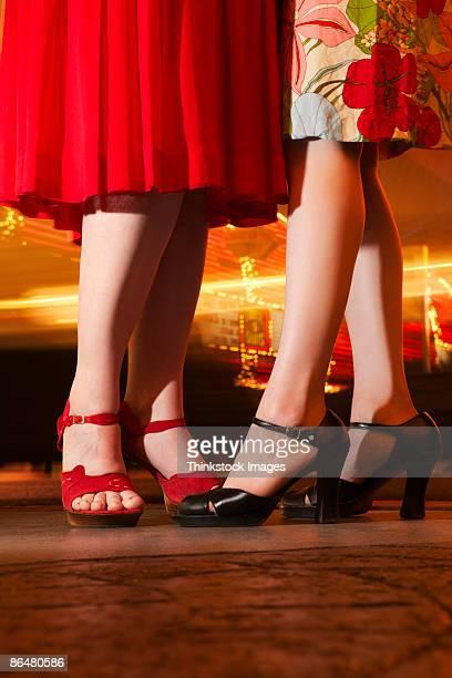 Legs of women