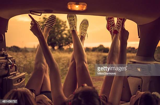 Legs on Road trip