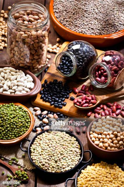 Legumes: Dry beans collection