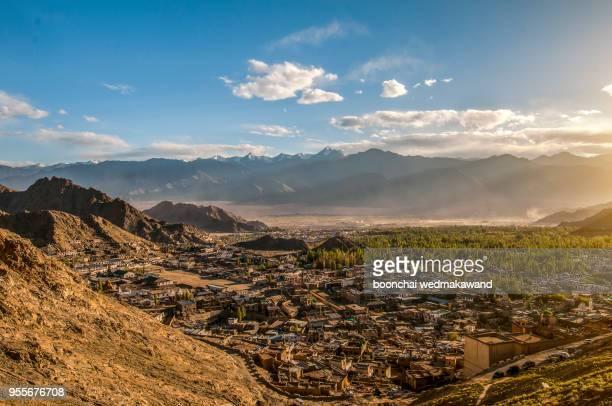 Leh city in Ladakh region, Northern India.