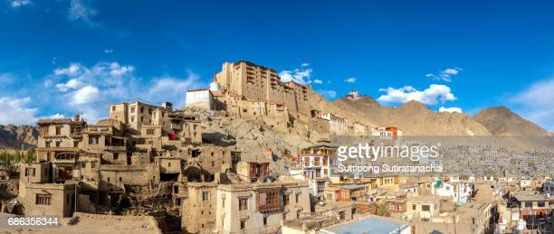 Leh Palace the monastery in center of Leh city in Jammu India