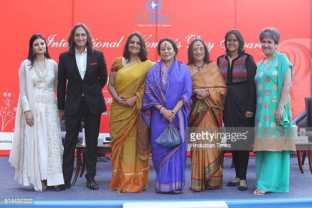 Leher Sethi Standup comedian Papa CJ Sonal Kalra Hindustan Times National Editor dance exponent Sonal Mansingh Artist Anjolie Ela Menon Neha Kirpal...