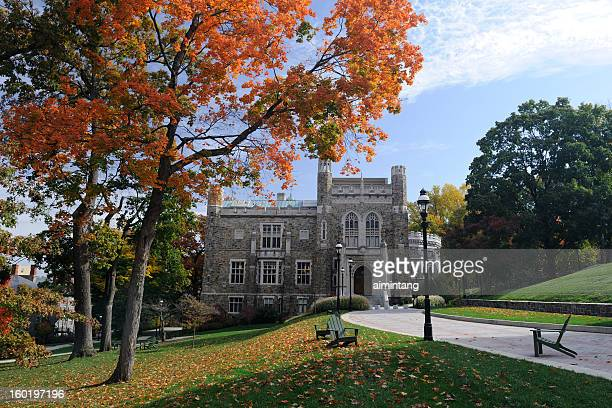 lehigh university in autumn - pennsylvania stock pictures, royalty-free photos & images