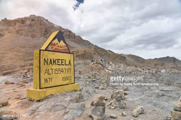 Leh–Manali Highway Nakeela pass at 4,739 m (15,547 ft) , jammu and kashmir, india