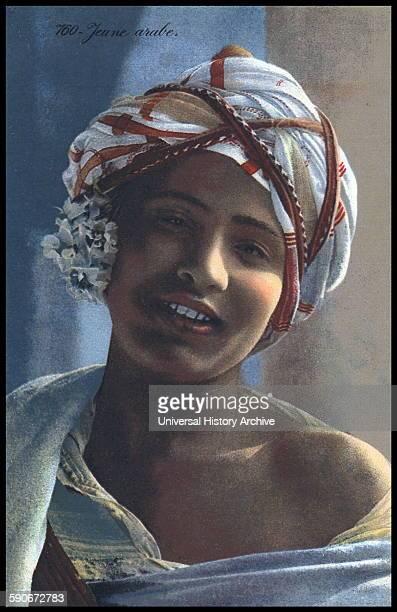 Lehnert Landrock photograph of a young Arab girl Tunisia 1910