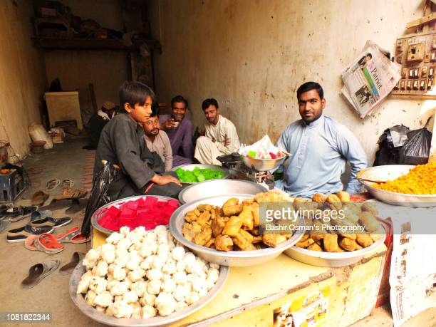 lehri -life going around streets of the town - mithai stock pictures, royalty-free photos & images