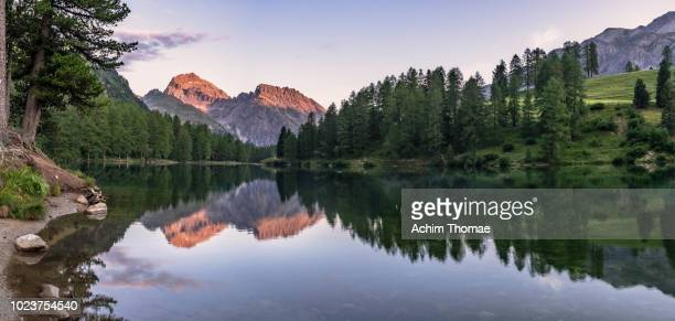 Lei de Palpuogna, Albula Pass, Canton of Graubuenden, Switzerland