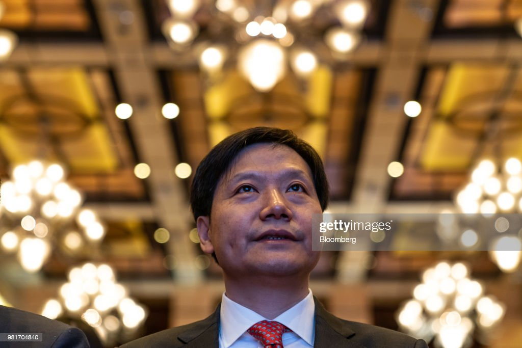 Xiaomi Corp. CEO Lei Jun Hosts News Conference on IPO
