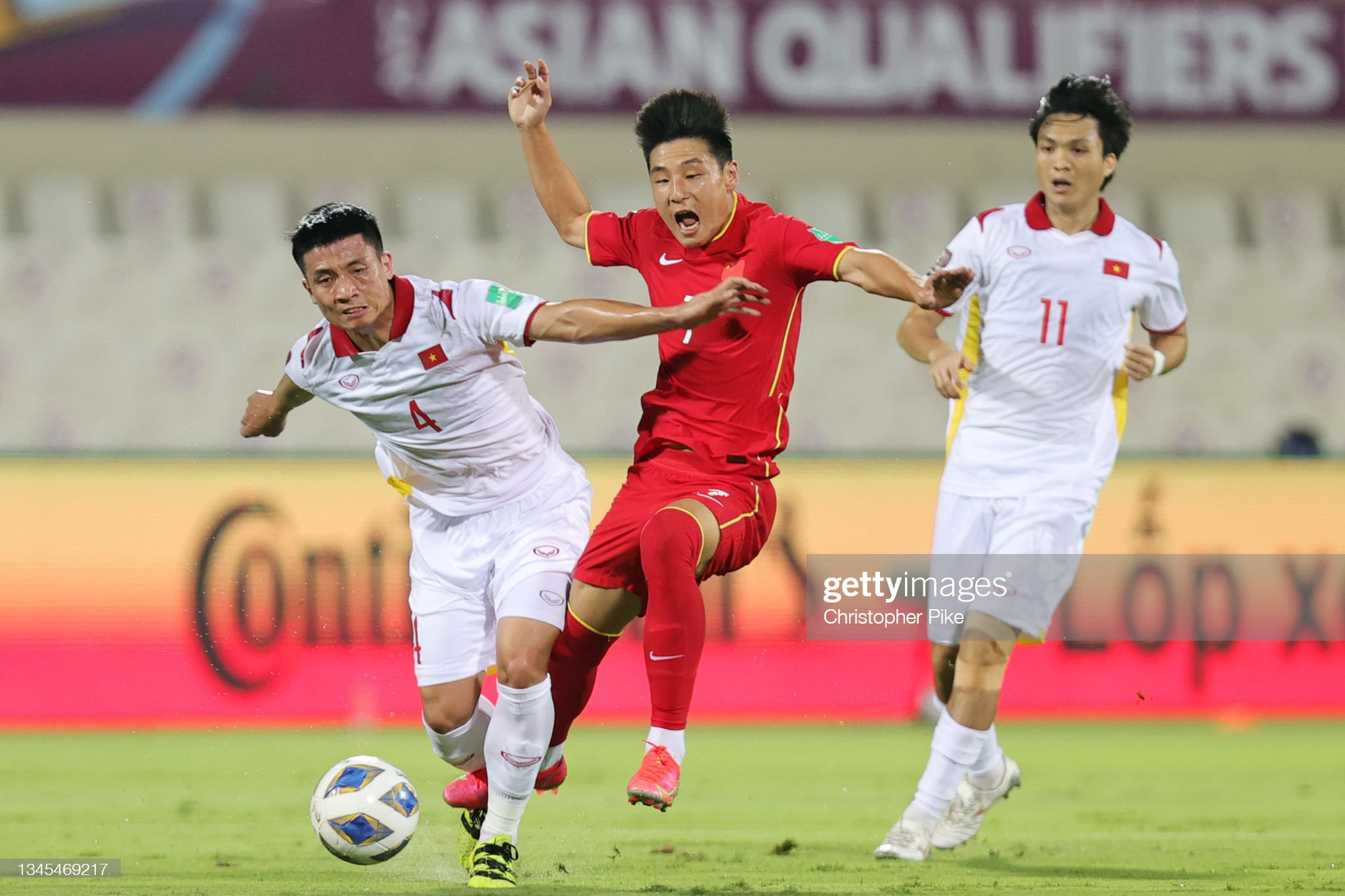China v Vietnam - FIFA World Cup Asian Qualifier Final Round Group B : News Photo