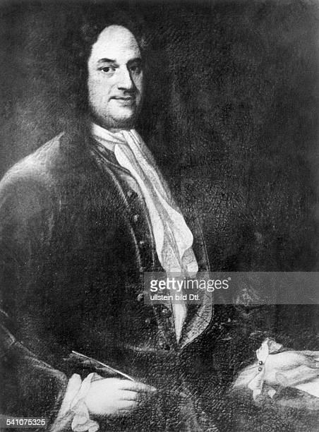 Leibniz, Gottfried Wilhelm 1646-1716Philosoph, Mathematiker, DBildnis aus dem Märkischen Museum ,Berlin.Anonym
