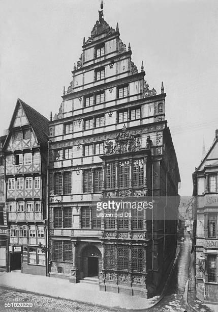 Leibniz, Gottfried Wilhelm *21.06.1646-14.11.1716+ Mathematics, Philosoph, D - living place of the last years in Hannover - 1916 - Photographer:...