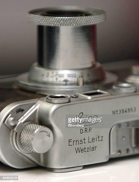 Leica 35mm camera is seen in Frankfurt Germany Tuesday February 22 2005