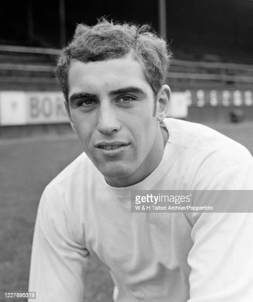 Leicester City and England Under 23's goalkeeper Peter Shilton at the Racecourse Ground in Wrexham Wales circa October 1968
