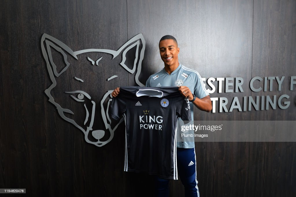 Leicester City Unveil New Signing Youri Tielemans : News Photo