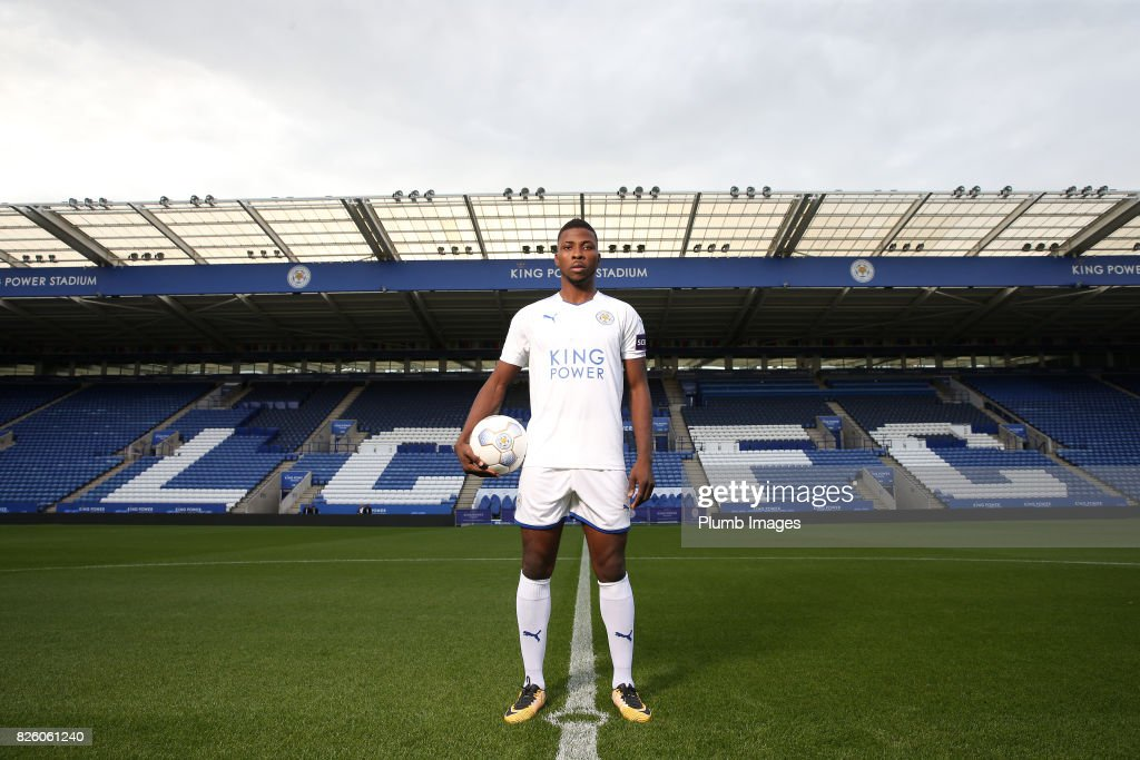 Leicester City announce the signing of Kelechi Iheanacho at King Power Stadium on August 3rd, 2017 in Leicester, United Kingdom.