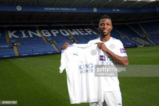 Leicester City announce the signing of Kelechi Iheanacho at King Power Stadium on August 3rd 2017 in Leicester United Kingdom