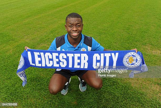 Leicester City announce the signing of Nampalys Mendy at Belvoir Drive Training Complex on July 03 2016 in Leicester United Kingdom