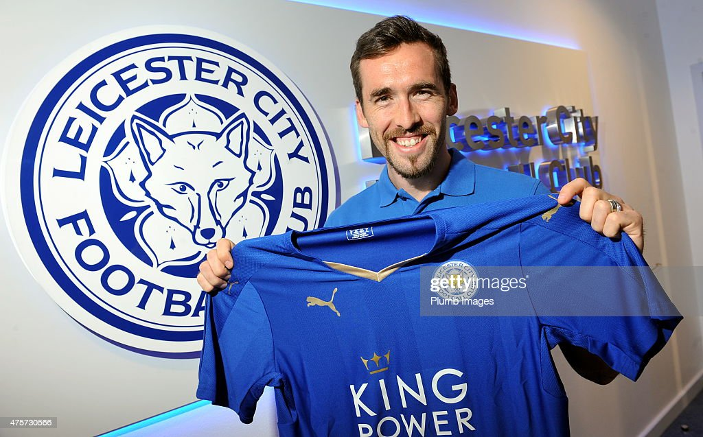 Leicester City Training Session and Press Conference : News Photo