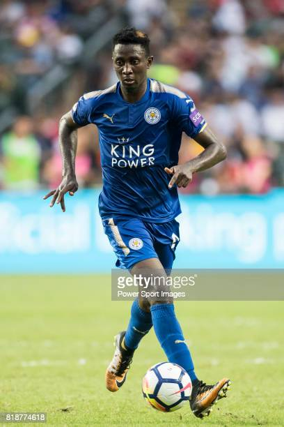 Leicester City FC midfielder Wilfred Ndidi in action during the Premier League Asia Trophy match between Leicester City FC and West Bromwich Albion...
