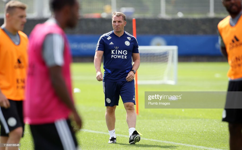 Leicester City Pre-Season Training Session : News Photo
