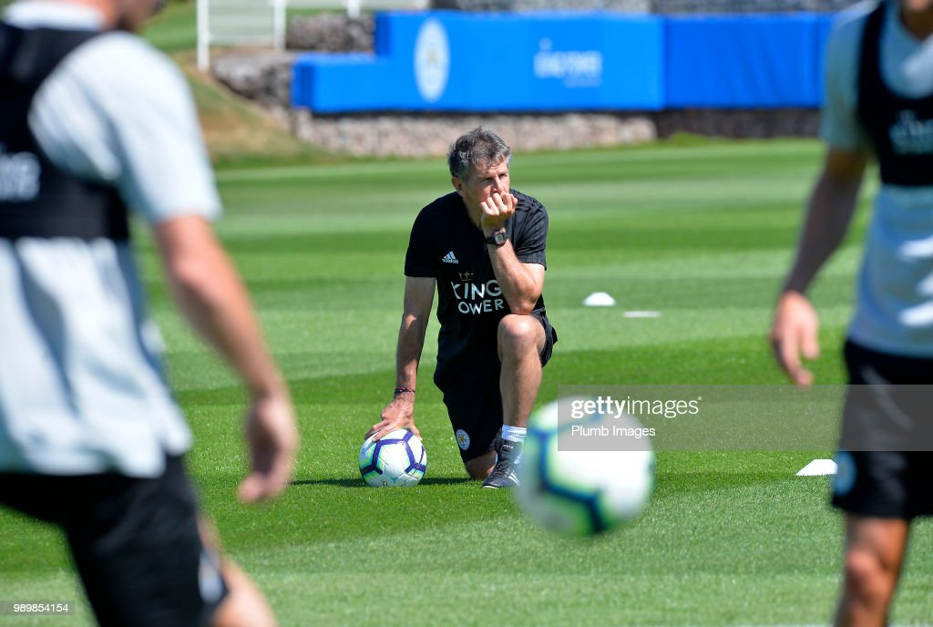 Leicester City Players Return to Pre-Season Training : News Photo