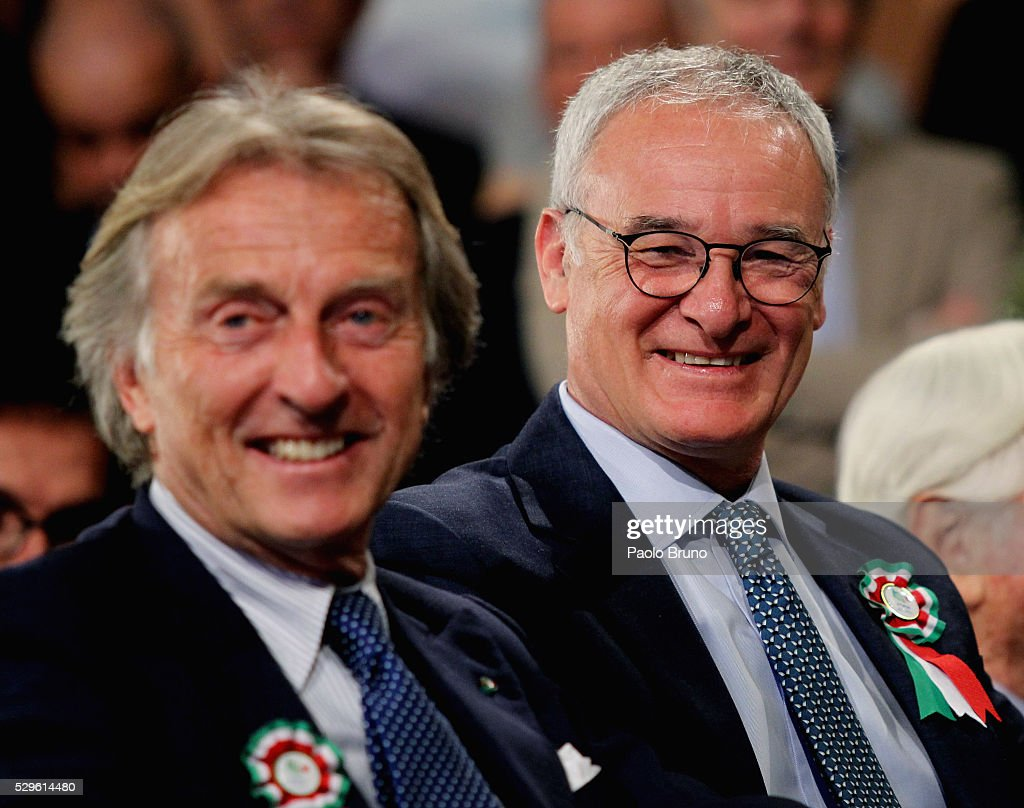 Italian Football Federation Awards Leicester City Manager Claudio Ranieri