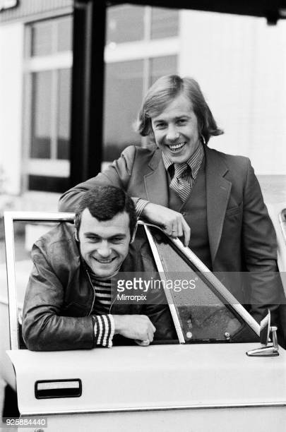 Leicester City new signings Alan Birchenall and Keith Weller each cost £100 2nd February 1972