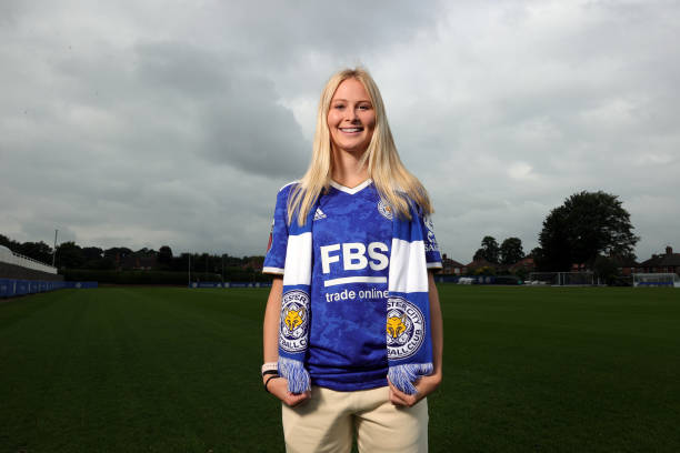 GBR: Leicester City Women Unveil New Signing Molly Pike