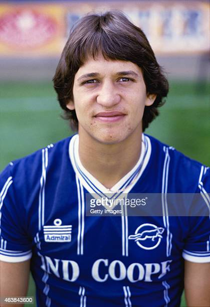 Leicester City striker Gary Lineker pictured at a pre season photo call prior to the 1983/84 season