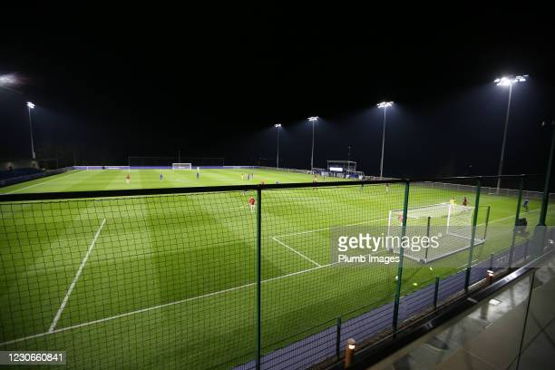 Leicester City Training Ground during the Premier League 2 match between Leicester City and Manchester United at Leicester City Training Ground, on...