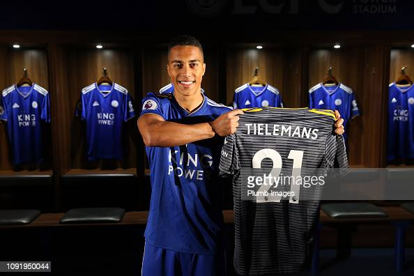 Leicester City Unveil New Loan Signing Youri Tielemans At