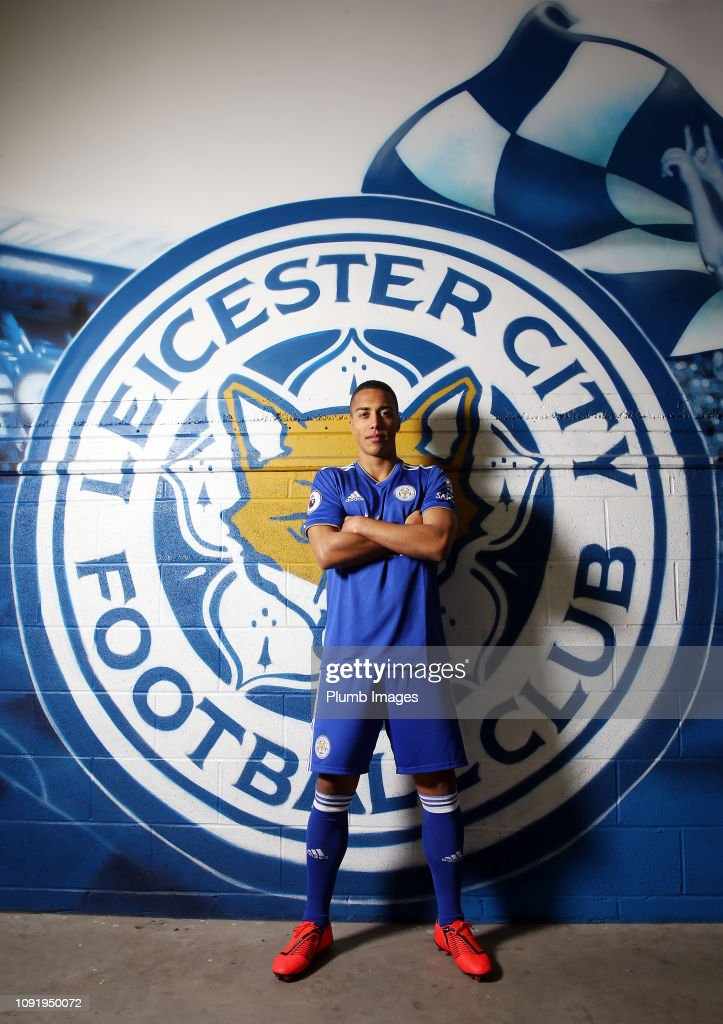 Leicester City Unveil New Loan Signing Youri Tielemans : News Photo