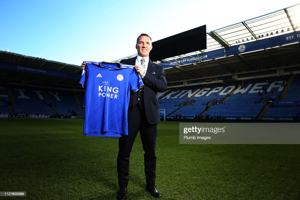 Leicester City Unveil New Manager Brendan Rogers : News Photo