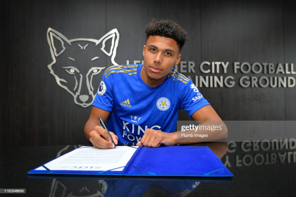 Leicester City Unveil New Signing James Justin : News Photo