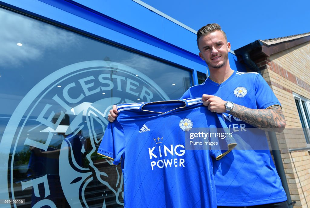 Leicester City Unveil New Signing James Maddison : News Photo