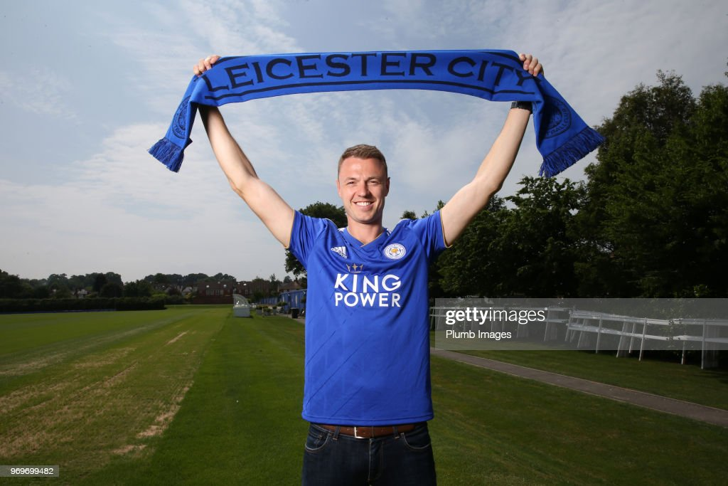 Leicester City Unveil New Signing Jonny Evans